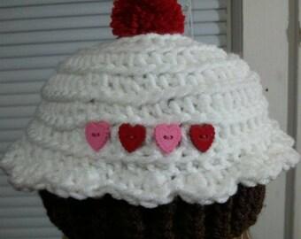 Crochet Baby Hat, Baby Girl Hat, Baby Girl Beanie, Baby Newborn Hat, Newborn Prop, Newborn Baby Hat, Baby Girl, Sizes Newborn - 12 months