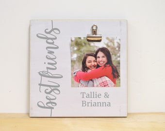 Personalized Best Friend Gift, Best Friends Photo Frame, Custom Picture Frame, Birthday Gift For Best Friend, Best Friend Gift, Friendship