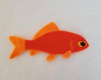 Goldfish catnip toy