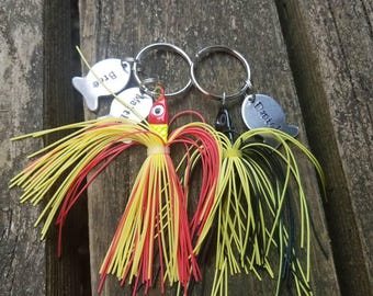 Fathers day fishing, Fishing lure keychain, Fathers Day fishing, fathers day keychain,Fishing Lure,Father gift, Father day fishing keychain