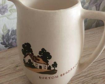 Vintage English Mottoware Jug /Stitch in time jug /English Motto ware Collectable jug/Mottoware jug/Collectable jugs/Vintage English Ware/