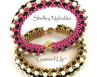 Gussied Up Bracelet Tutorial - pdf Instructions ONLY