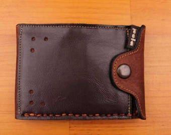 American Wallet with Zipper