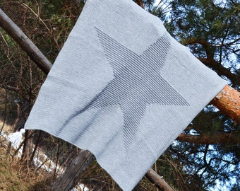 Star Baby Blanket, Knitting baby blanket, PDF Pattern, Blanket pattern instant download