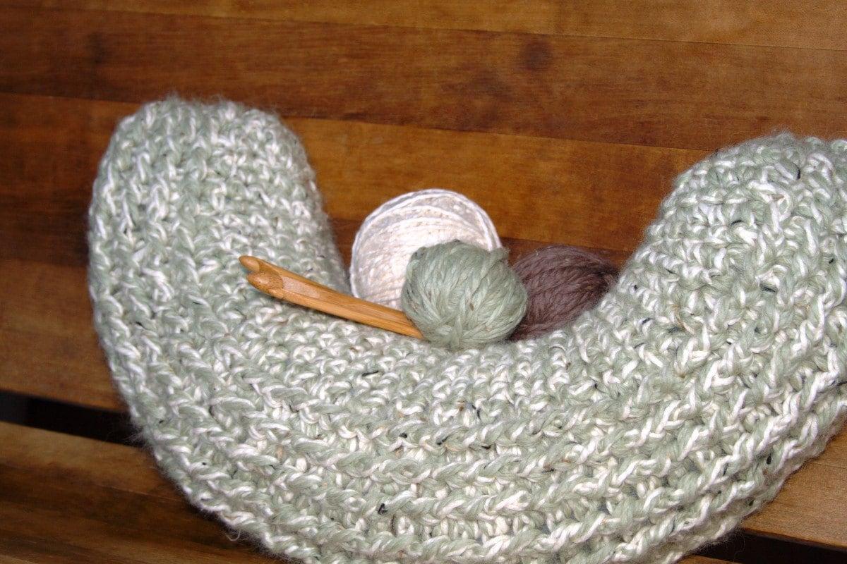 Neck Pillow Pattern DIY Pillow DIY Home Decor Crochet Pillow