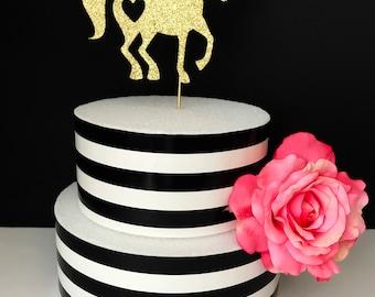 Gold- Unicorn Cake Topper- Centerpiece