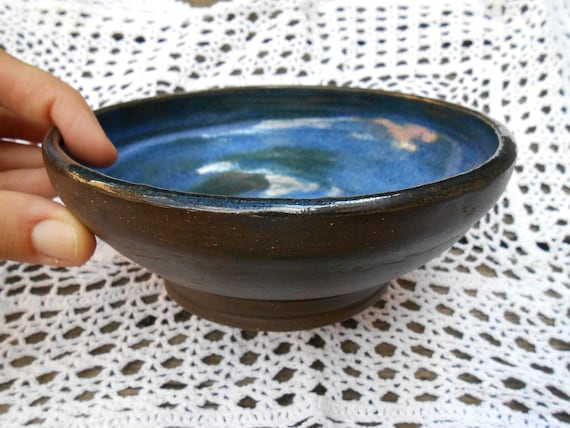 Water Droplet Ceramic Bowl