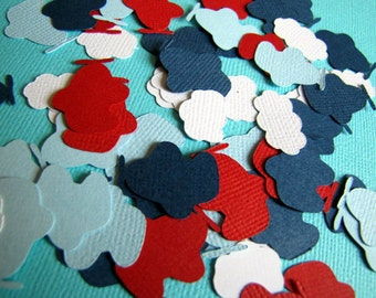 Airplane Party Confetti, Airplane and Cloud Confetti, Airplane Birthday Party, Airplane Baby Shower, Airplane Table Decor, Boy Birthday