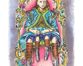 Josephene Myrtle Corbin - 4 Legged Girl- LIMITED EDITION 8.5 x 11 High Quality Art Print