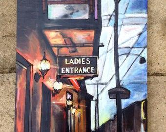 Ladies entrance