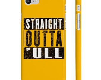 Straight Outta Hull ('ull) Funny Compton NWA Style Funky Phone Case Cover
