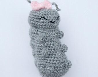 PDF Crochet Pattern - Amigurumi Roly Poly Pill Bug