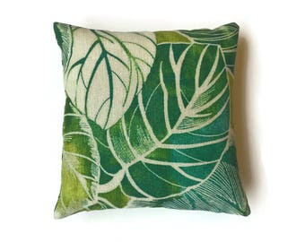 Green pillow cover,Indoor/Outdoor decorative pillow cover,green