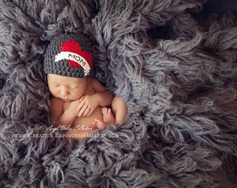As Seen on the Today Show - Valentines Day Hat | Boy I Heart Mom Hat | Tattoo Boy Hat | sizes Baby to Teen