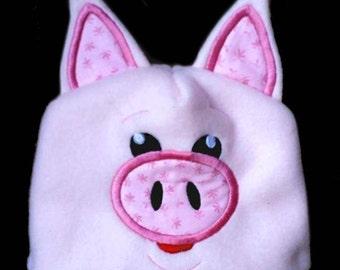 In Hoop Pig Hat
