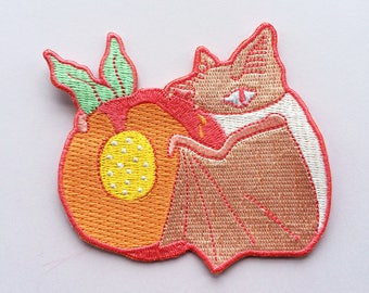 Sweet Peach Iron on Patch