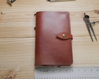 Leather Moleskine Journal Cover / Journal Included