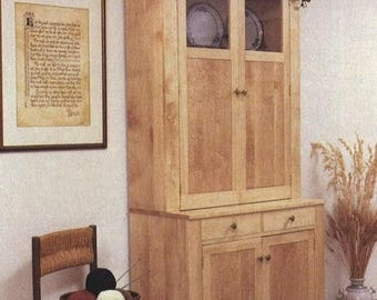 Shaker Style Cupboard Woodworking Plans