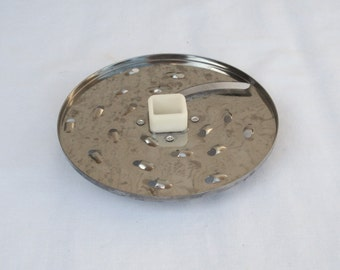 WEST BEND Food Processor Model 41020 Shredder Slicer Disk Replacement Part.