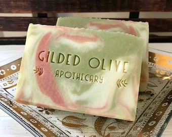 OMG Olive, Homemade Soap, LUSH Dupe, Handmade Soaps, Artisan Soap, Gift For Her, Olive Branch, Lush Lather, Cold Process Soap, Clay Soap