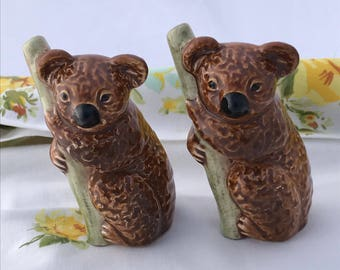 "Koala Figurines W German Vintage 3"" Adorable Collectable"