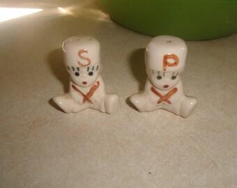 vintage salt pepper shakers set sailor