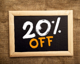 Sale!! 20% off all items @malasanmore