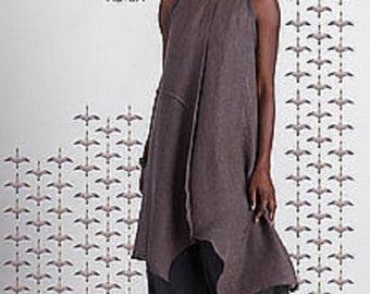 Meri Dress Sewing Pattern  TG-A7086 by Tina Givens Lagenlook Style- Layering! Sizes XS- 2X- Phenomenal!
