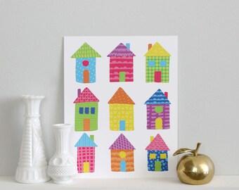 SALE - Houses Print