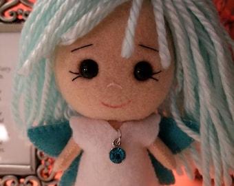 Birthstone Gingermelon Fairy Chibi