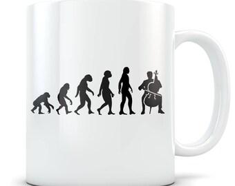 Cello gift, cello mug, cello gift for men, cello gift idea, cello gift for women, cello player, cello player gift, cello coffee mug