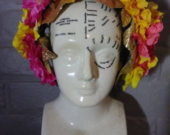 Demeter Floral Headband Headpiece