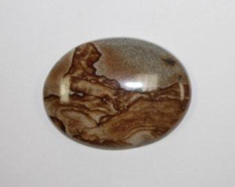 Jasper Picture stone oval