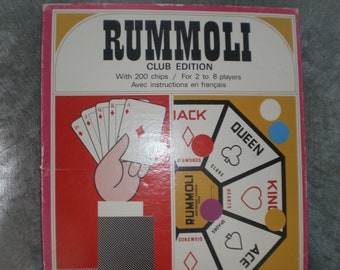 Vintage Rummoli game club edition 1970's