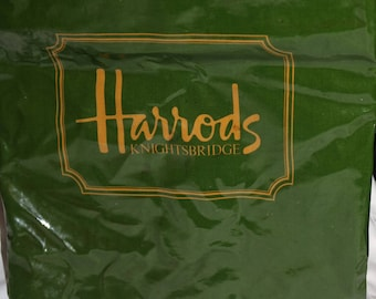 Harrods Knightsbridge shopping tote bag