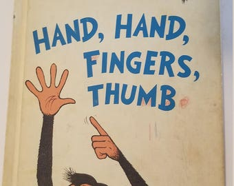 Hand, Hand, Fingers, Thumb by Dr. Seuss