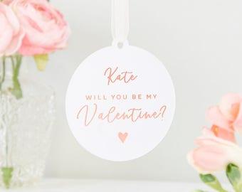 Valentine's Day Keepsake Foiled Decoration