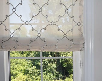 112# YOUR FABRIC, Our Lining & Labor CUSTOM Roman Shade