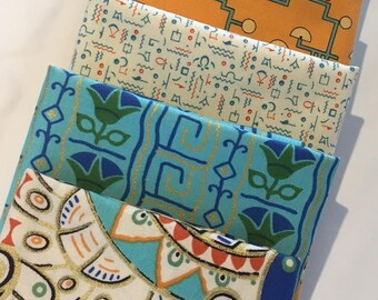 Downton Abbey Fabric Bundle of 6 EGYPTIAN COLLECTION Fabrics - 18.00 FQ Bundle - 30.00 Half Yard Bundle - 60.00 Yard Bundle