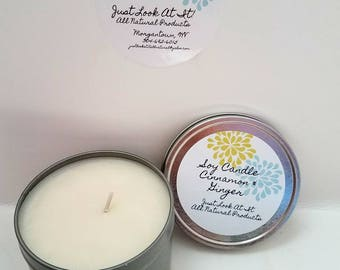 Cinnamon & Ginger Soy Candle