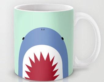 Shark Mug / Personalized Mug / Shark Custom Mug / Custom with name