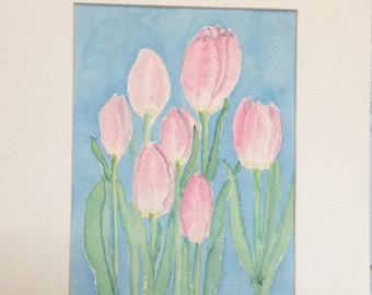 Home Decor, Wall Decor, Friendship, Mothers Day, Birthday, Watercolor, Watercolor Painting, Flower Painting, Watercolor Flowers, Wall Art