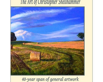 The Art of Christopher Shellhammer 40-year of general artbook by Award Winning Artist Christopher Shellhammer.
