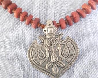A Boho Pendant Necklace