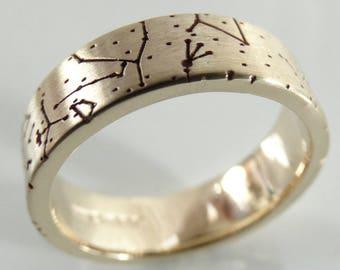Star Map Special Birthday Ring