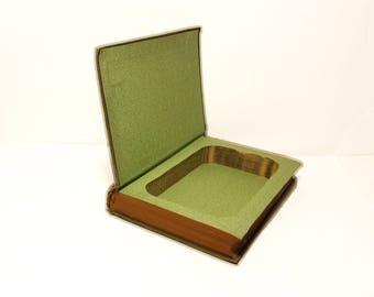 Hollow Book Safe The Million Pound Deposit Cloth Bound vintage Secret Compartment Security hiding place