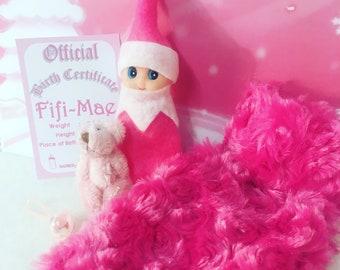 Baby Elf Fifi-Mae The Shelf Sitter Doll