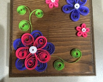 Paper Quilled  Box