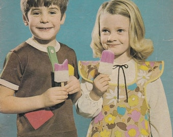 ON SALE Enid Gilchrist - Play Clothes -  Simple Sewing Designs - for Boys & Girls - 6 months to 6 years- 1970s