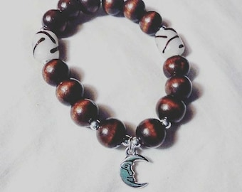 Crescent Moon Women/Men Bracelet